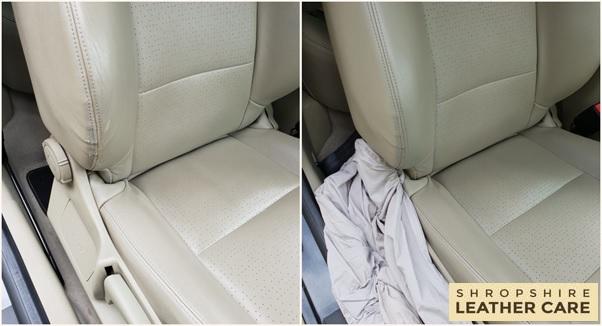 Leather Car Seat Repairs Restoration Telford Shrewsbury